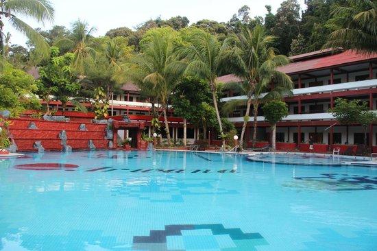 Arwana Perhentian Eco Resort & Beach Chalet: Pool