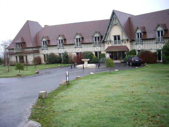 Domaine de Villers : Vue extérieure