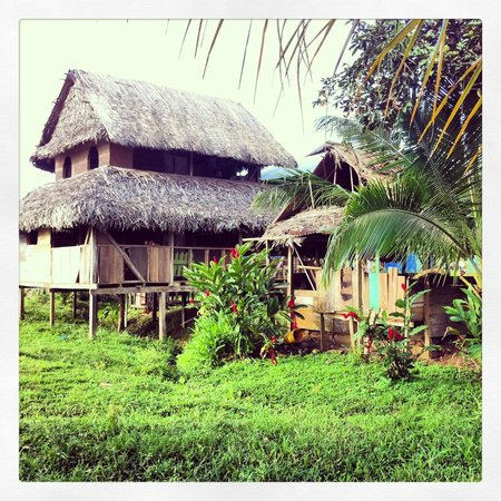 Laguna Azul Eco Lodge: Salt Creek Village. One of our local tours on our stay.