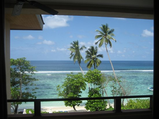 DoubleTree by Hilton Seychelles Allamanda Resort & Spa : vista dalla stanza