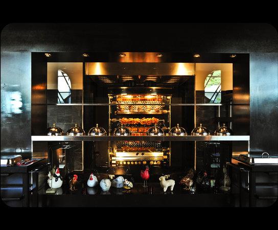 Restaurant La Broche: Cuisson à la Broche