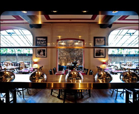 Restaurant La Broche: Ambiance jour