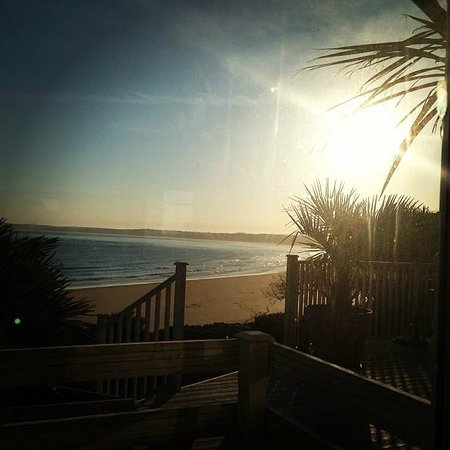 Carbis Bay Hotel & Estate: The view for breakfast
