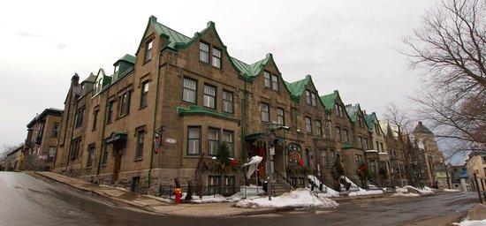 Hotel Chateau Bellevue: Hôtel au 16 rue de la Porte, Québec.