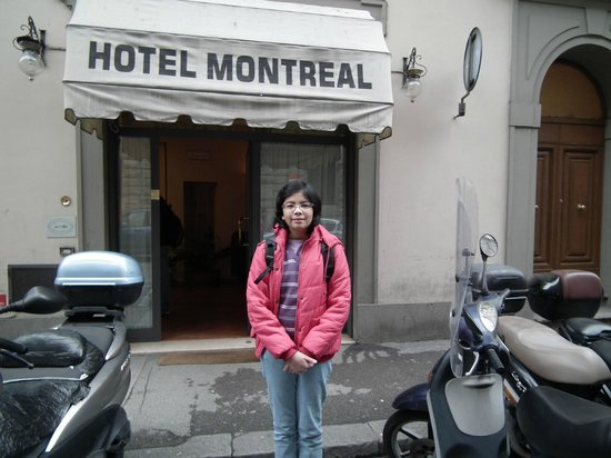 Entrance to Hotel Montreal