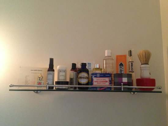 Hotel Saint Cecilia: Bathroom products (for sale)
