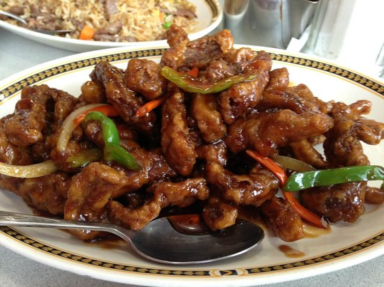 Ginger Beef Picture Of Lido Cafe Calgary Tripadvisor