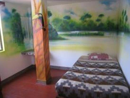 La Casa Suiza: Un des dortoirs pour 3/4