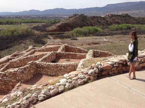 Tuzigoot National Monument: Ruins