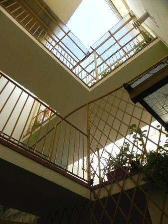 Funky Granada: Open Air Lobby