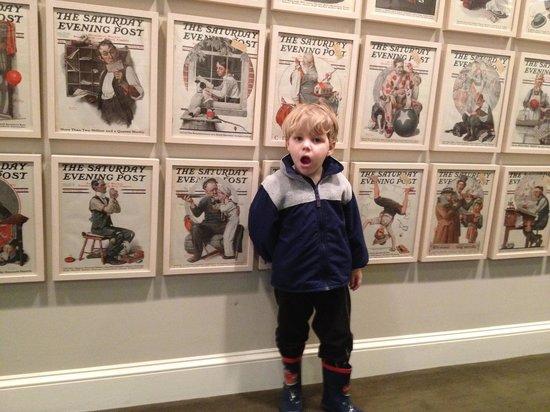 Norman Rockwell Museum: Cooper