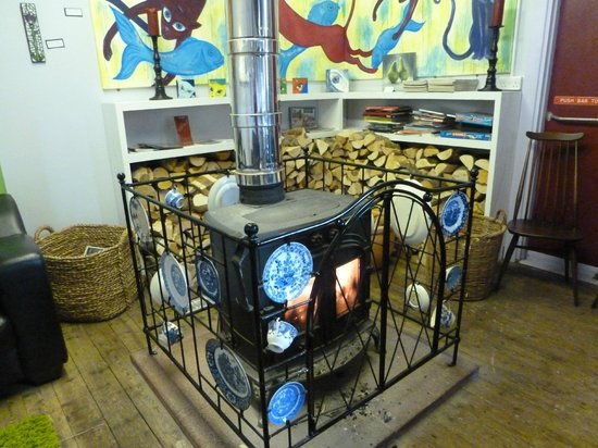 Whistle Stop Cafe: Wood Burning Stove