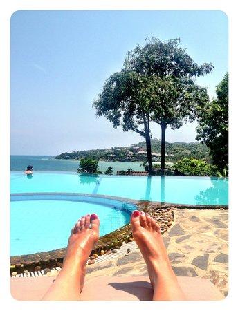 High Life Bungalow Resort: View