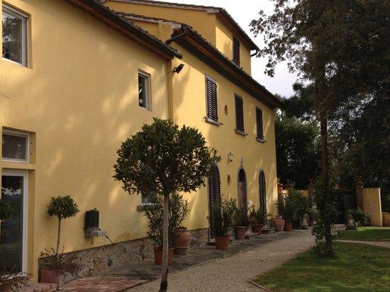 Villa Bracali: View of the Hotel