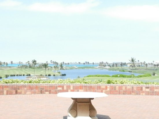 Ocean Club Golf Course : View from Clubhouse