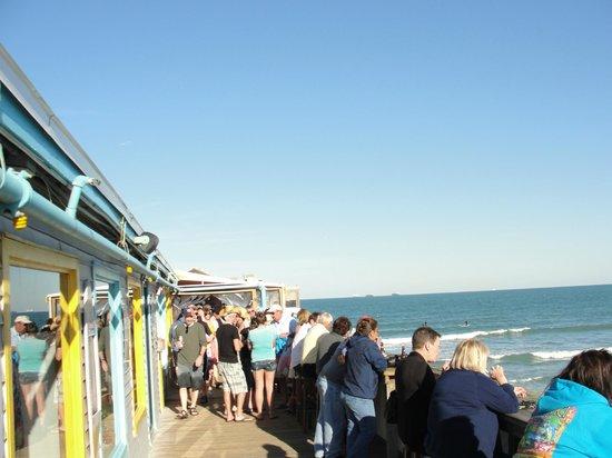 Cocoa Beach Pier Walking On The Boardwalk