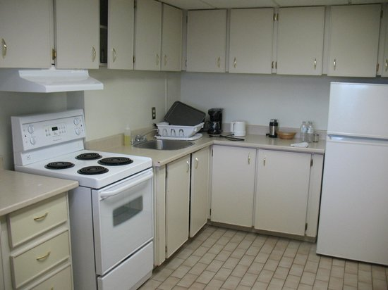 The Business Inn & Suites: The kitchen...