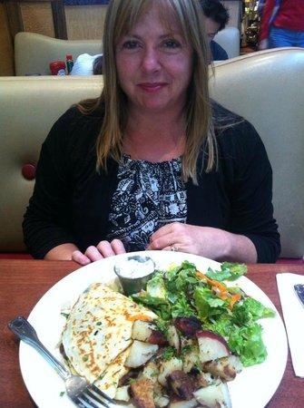 Dinner at the Crepevine