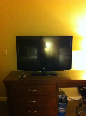 Days Inn San Diego Hotel Circle Near SeaWorld: New Big Flat Screen Television