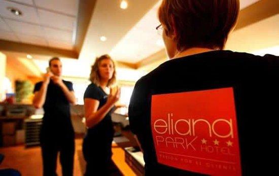 Hotel Eliana Park: RECEPCION