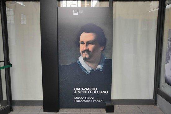 Museo Civico: Caravaggiio A Montepulciano