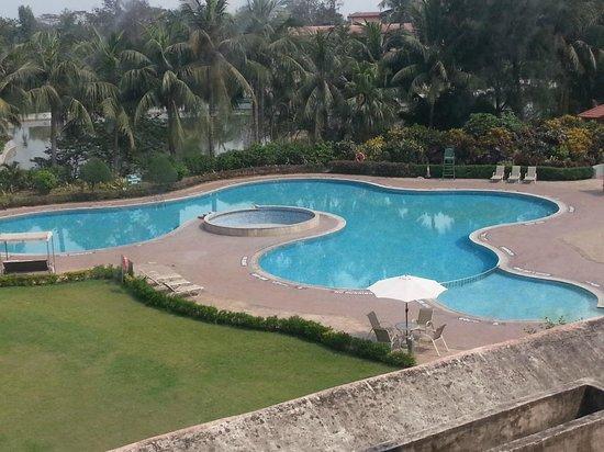 Fortune Park Panchwati Hotel: Pool view from room