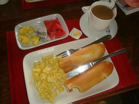 Firefly Guesthouse- The Berlin Angkor: Breakfast menu