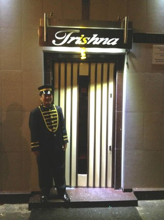 Trishna Restaurant : the door man
