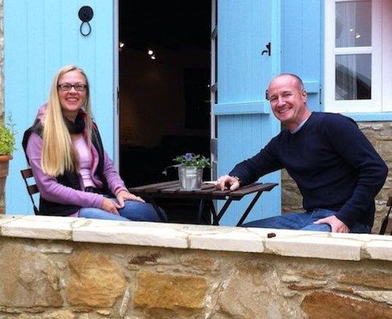 Dolphin Guest House and Studios: Konrad & Claudia