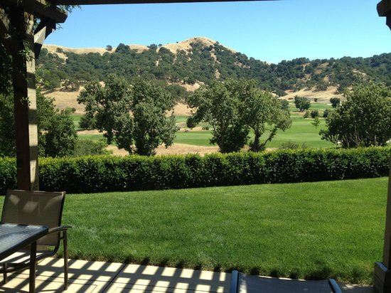 CordeValle, A Rosewood Resort: View from Patio
