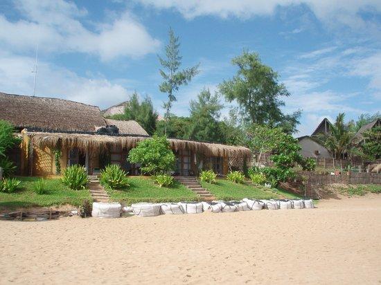 Casa na Praia Tofo: casa na praia
