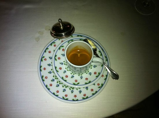 Fortuny Restaurant: Cofee