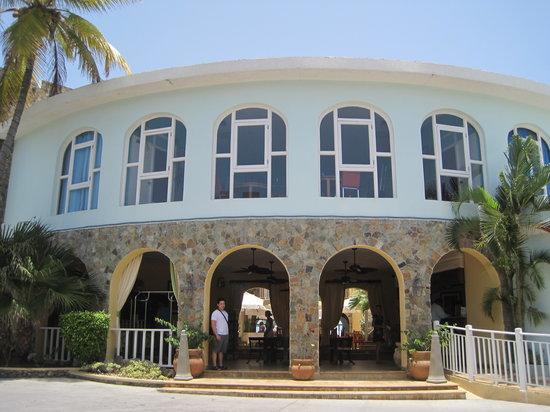 Oyster Bay Beach Resort: OBBR reception area