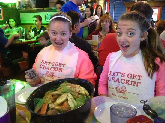 Joe's Crab Shack : Don't let them fool you. They ate the whole thing!