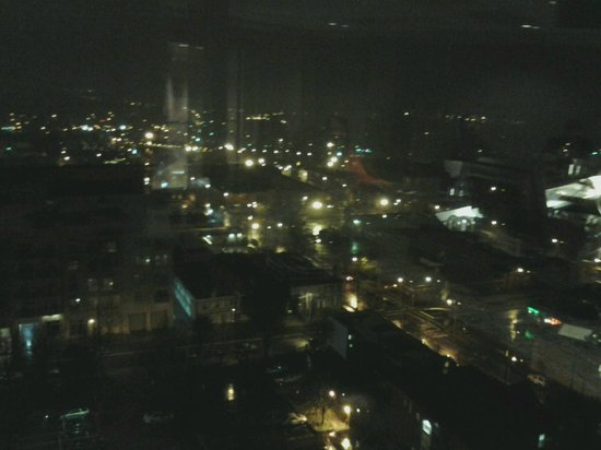 Holiday Inn Raleigh Downtown: Night shot from the bar on top floor.