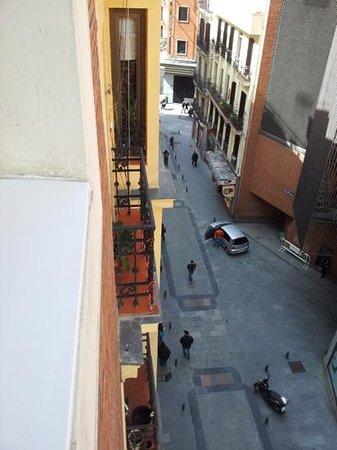 Hotel II Castillas: Vista desde la habitación