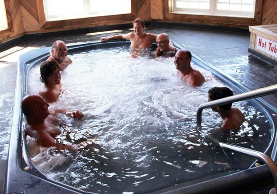 East Gwillimbury, Canadá: Hot tub