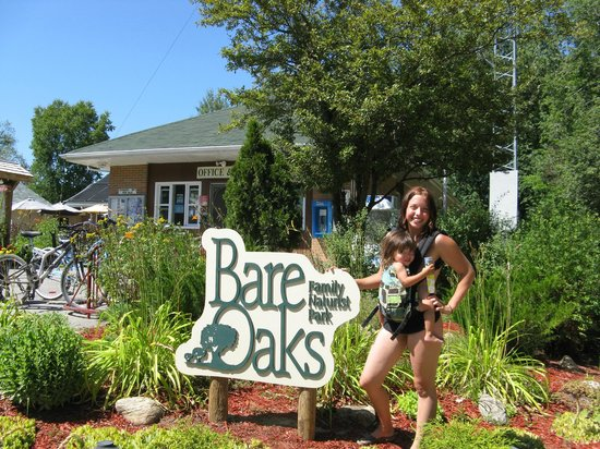 Bare Oaks Family Naturist Park: Office and store