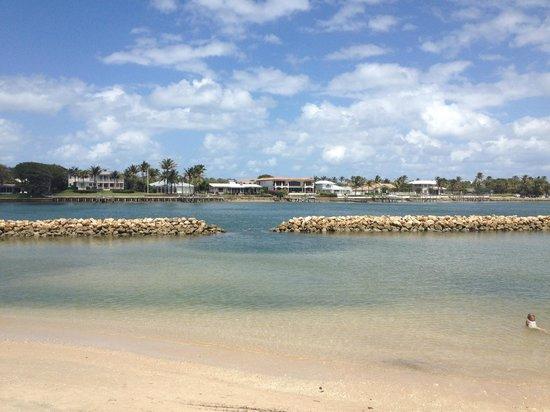 Dubois Park: Snorkeling Area at low tide