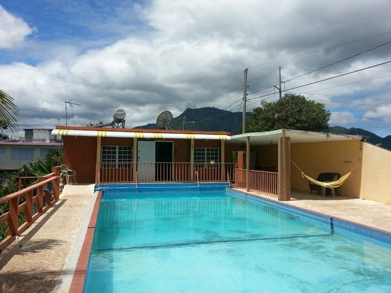 La Paloma Guest House: The room by the pool