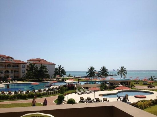 Grand Caribe Belize Resort and Condominiums: view from F206