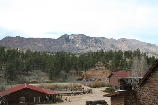 Lost Valley Ranch: View from cabin