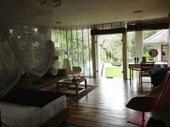 Chapung SeBali Resort and Spa: Master bedroom/suite