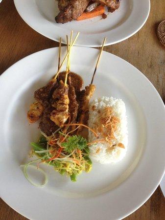 Chapung SeBali Resort and Spa: Yummy restaurant food
