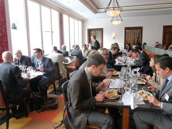 Crowne Plaza Hotel Brussels - Le Palace: Restaurant for Lunch