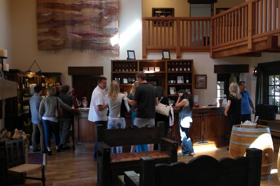 Stagecoach Wine Tours Santa Ynez: Sanford tasing room
