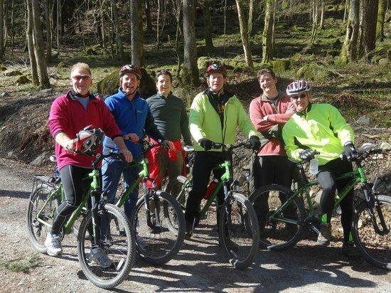 Country Lanes Cycle Centre: Boys On Tour On Bikes