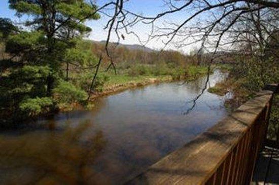 Albergo Allegria: Exterior Creek