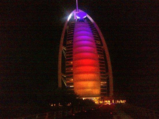 Burj Al Arab Jumeirah : esterno Burj al Arab