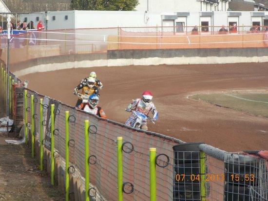 Glasgow Tigers Speedway: mid race